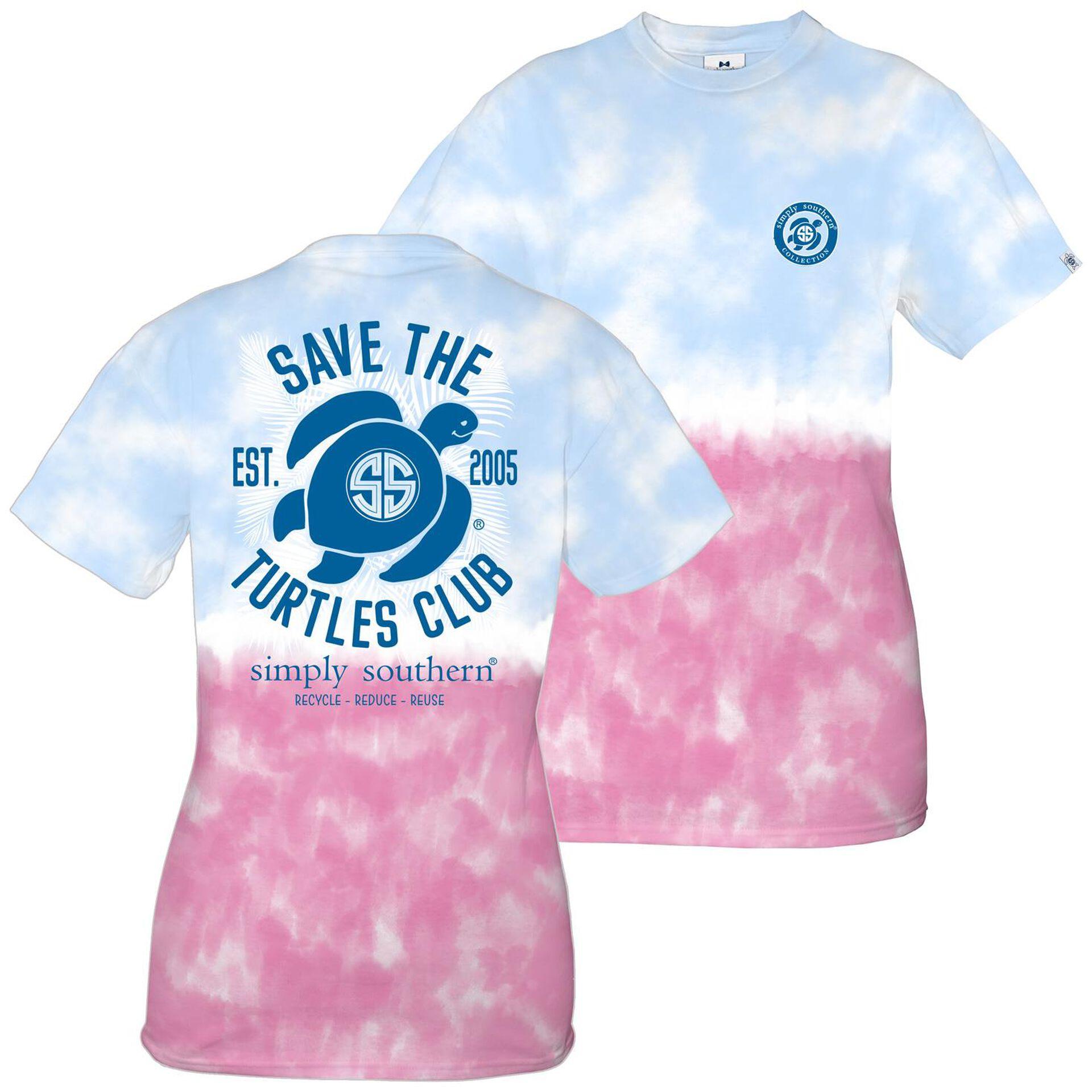 Save The Turtles Pink Tee
