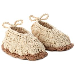 Lamb Knitted Baby Booties, 0-12 Months, , large