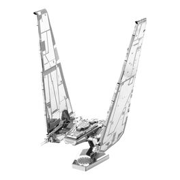 Fascinations 266 Star Wars Kylo Ren Command Shuttle Metal Earth 3D Metal Model Kit, , large