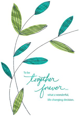 Together Forever Anniversary Card