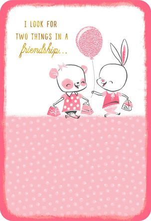 You and Me Friendship Card