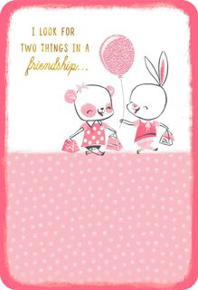 You and Me Friendship Card,