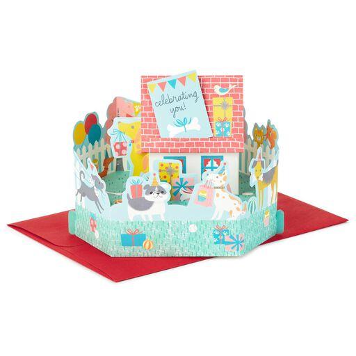 Burst Of Balloons Pop Up Birthday Card Greeting Cards Hallmark