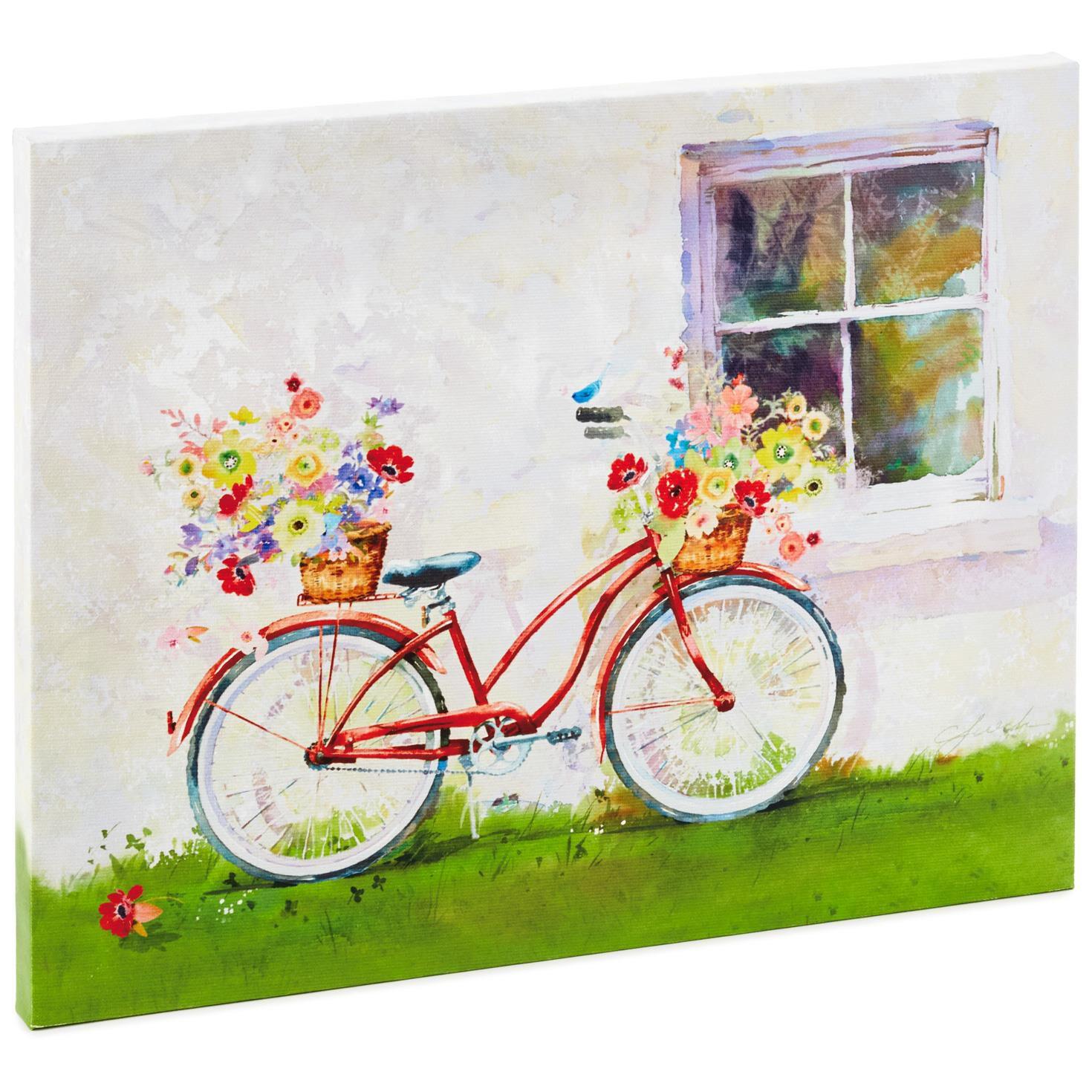 Bicycle Canvas Art, 11x14 - Framed Art & Prints - Hallmark