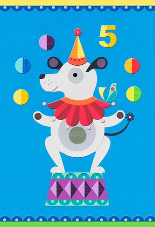 Youre 5 Birthday Card For Boy