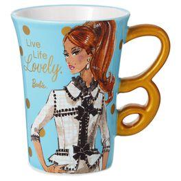 Barbie™ Live Life Lovely Ceramic Mug, 12 oz., , large