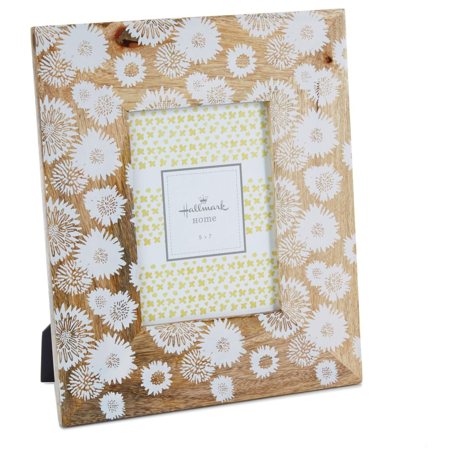 Flower Print Wood Picture Frame, 5x7 - Picture Frames - Hallmark
