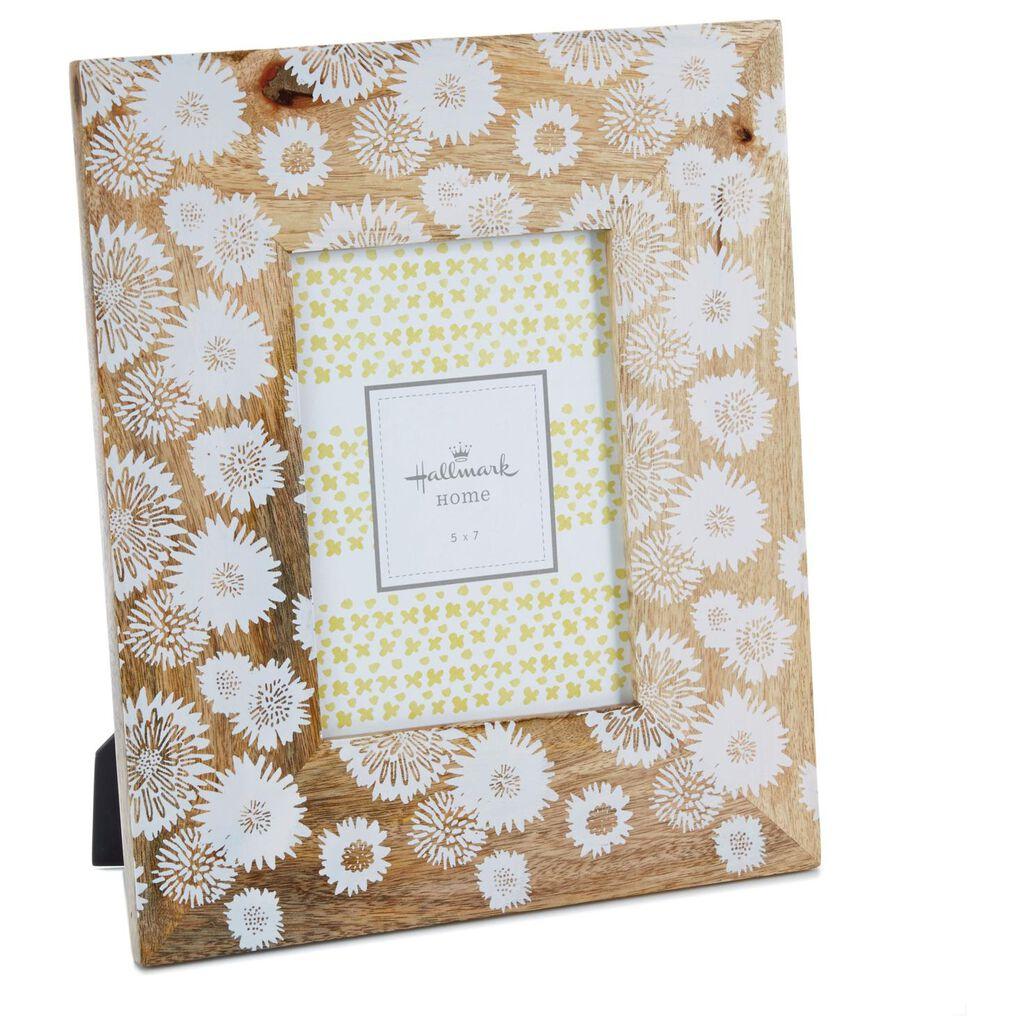 Flower Print Wood Picture Frame, 5x7 - Picture Frames - Hallmark