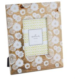 Flower Print Wood Picture Frame, 5x7, , large