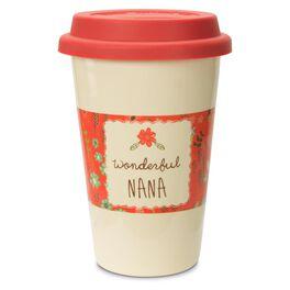 Wonderful Nana Insulated Travel Mug, 15 oz., , large