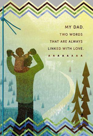Dad Gratitude and Love Birthday Card