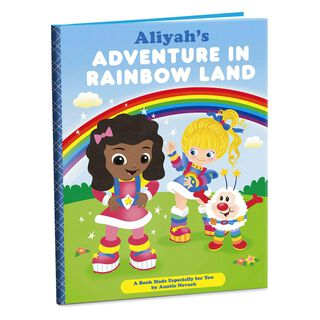 Rainbow Brite Personalized Book,