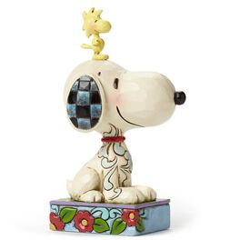 Jim Shore My Best Friend—Snoopy and Woodstock Figurine, , large