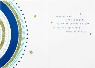 Happy Birthday Circles Card