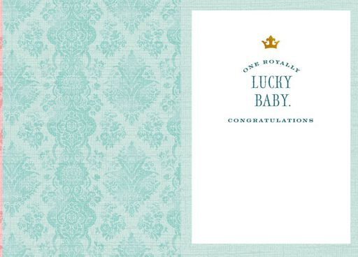 Lady-in-Waiting Baby Shower Card,