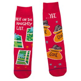 Not on the Naughty List Toe of a Kind Socks, , large