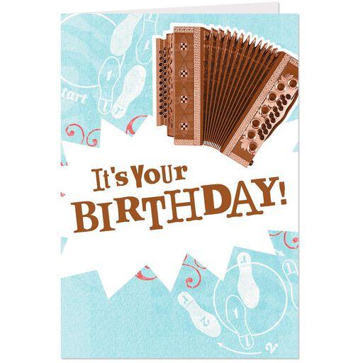 Funny Musical Birthday Card