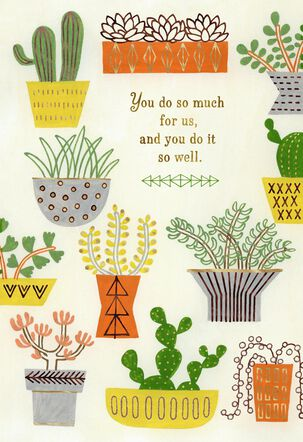 You Make A Difference Admin Professionals Day Card From Us