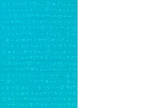 4 Boobs Lesbian Math Blank Card,