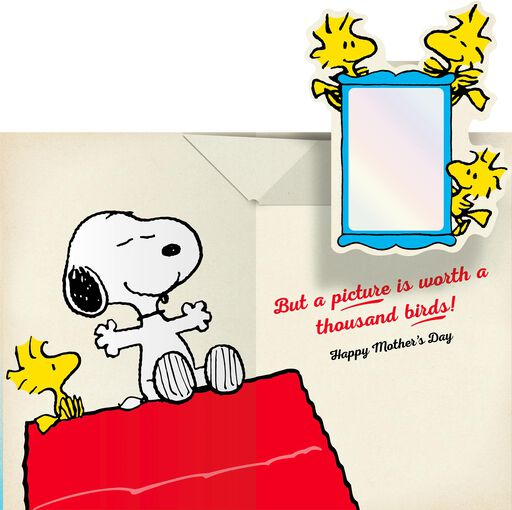 Peanuts® Snoopy and Woodstock Mother's Day Card for Daughter,