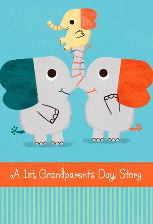 A Happily Ever After Story Grandparents Day Card