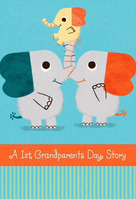 a happily ever after story grandparents day card greeting cards