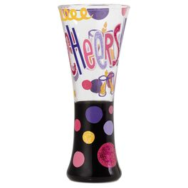 Lolita® Cheers Handpainted Shot Glass, 1 oz., , large