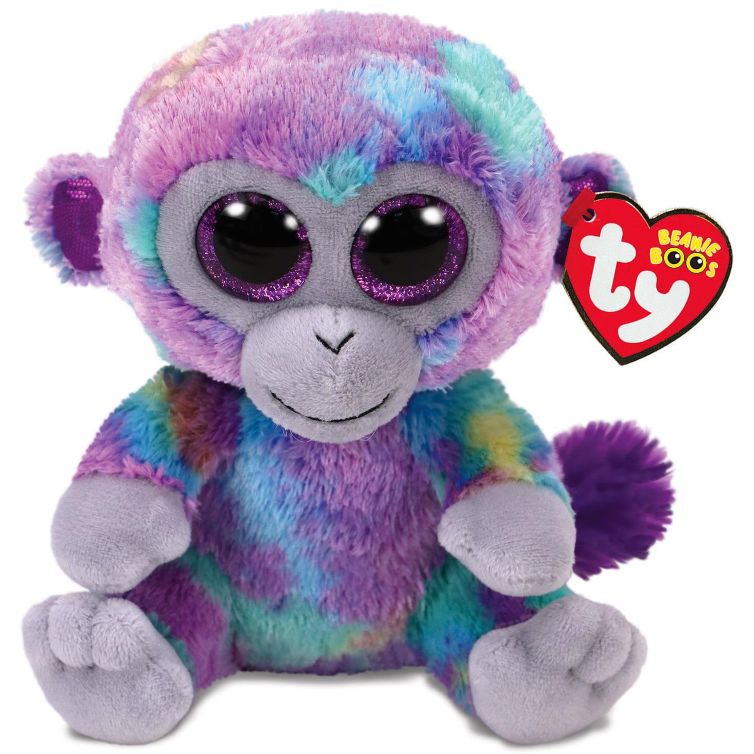 Ty® Beanie Boos Zuri Monkey Stuffed Animal 3440183e163