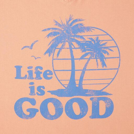98f3a04b52155 ... Life is Good® Women's Vintage Palms V-Neck T-Shirt,