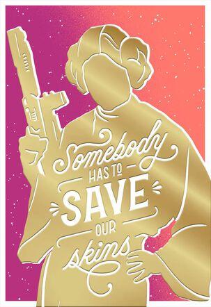 Star Wars™ Princess Leia™ Rescue Birthday Card