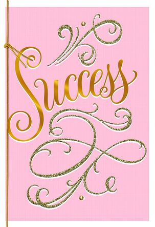 Success Is Dreaming Big Graduation Card