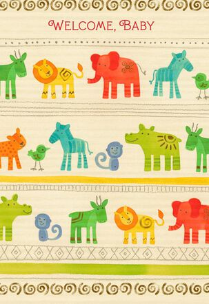 Sweet Wishes New Baby Card
