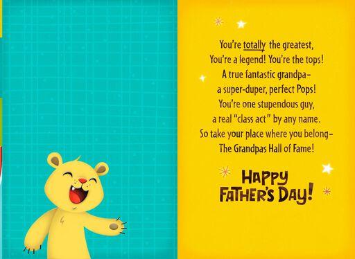 You're a Legend, Grandpa Father's Day Card,
