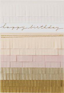 Wishing You Happiness Birthday Card,