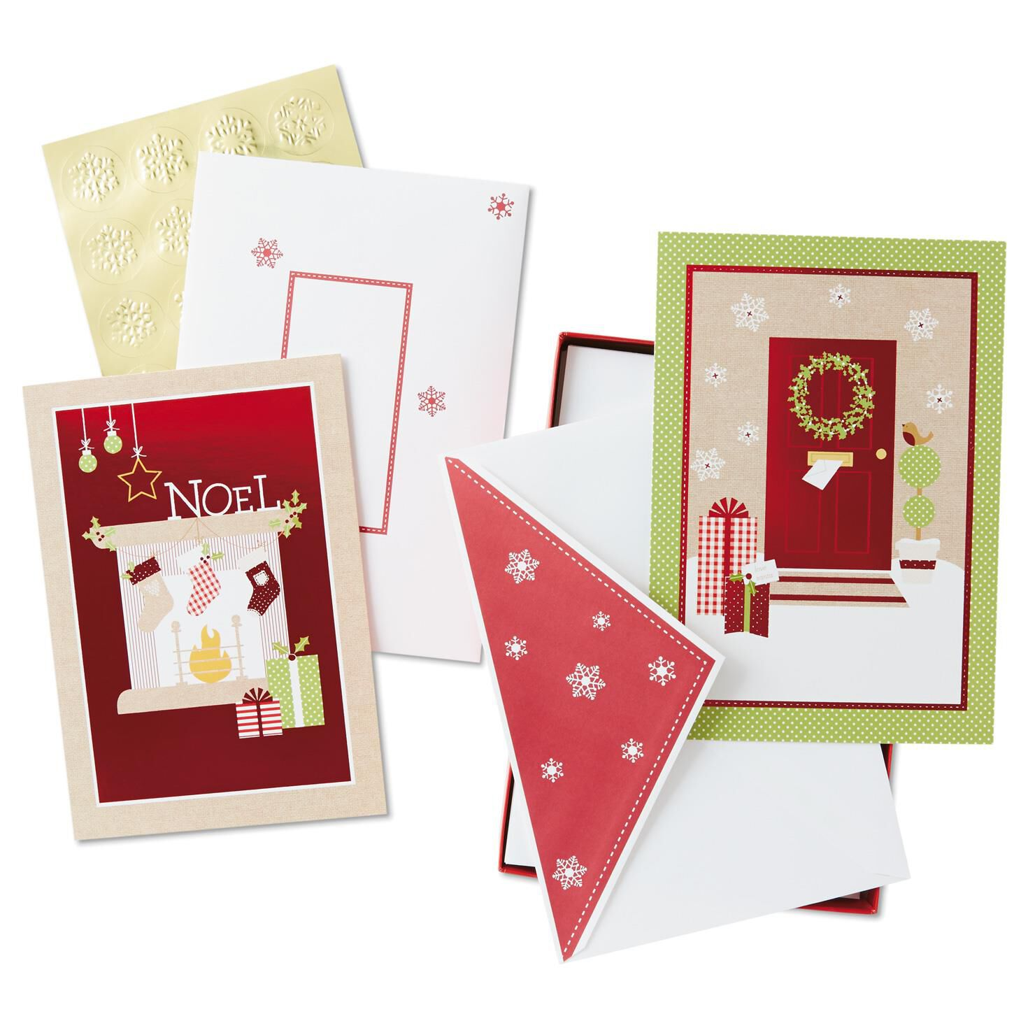 Sweet Memories Assorted Christmas Cards Box Of 40 Boxed Cards