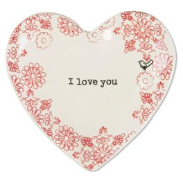 "Natural Life Heart Trinket Dish ""I Love You"", , large"