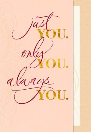 Always You Sweetest Day Card
