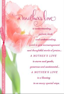 Mother's Love Religious Easter Card for Mom,
