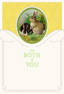Means So Much Easter Card for Special Couple,