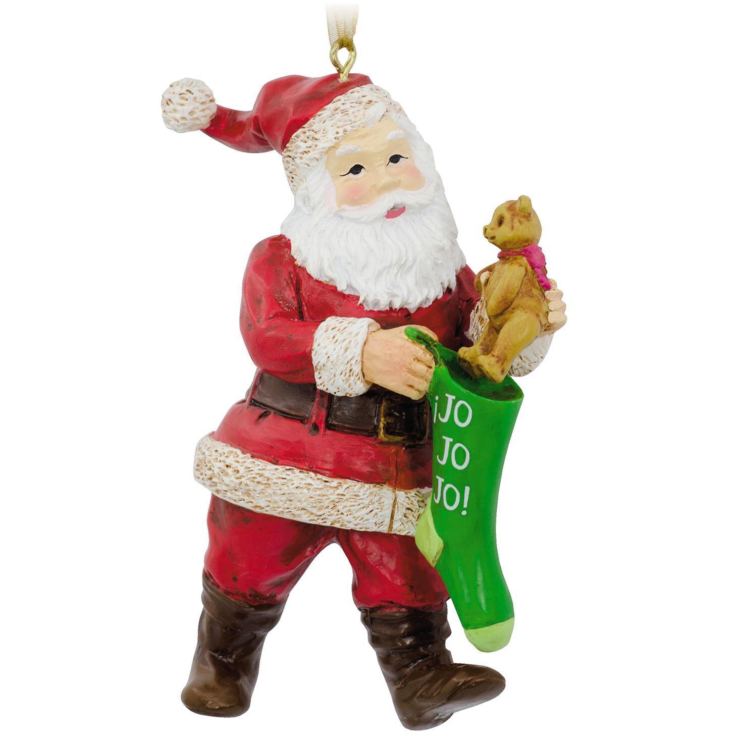 Santa Spanish-Language Hallmark Ornament - Specialty Ornaments ...