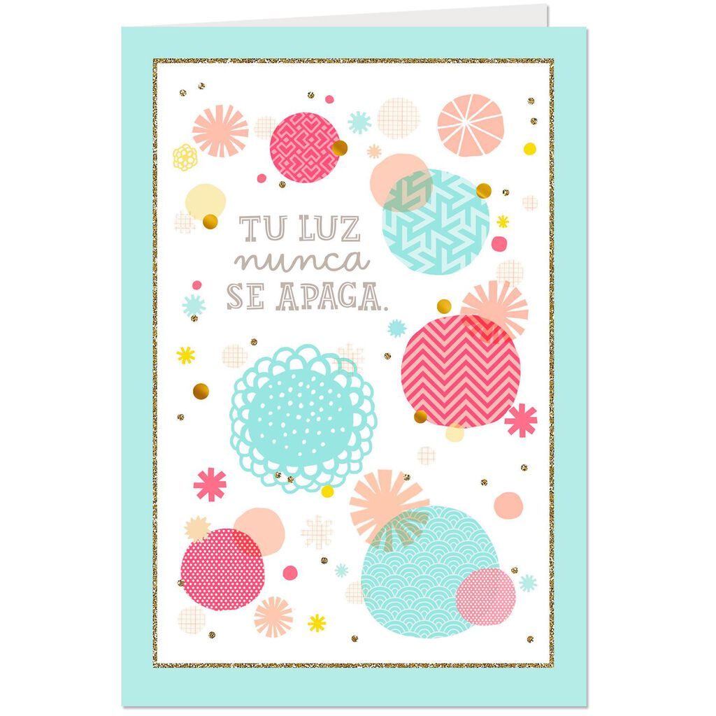 Thanking God For You Spanish Language Religious Birthday Card Mom