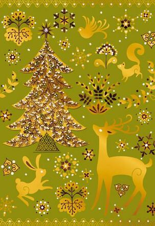 Beautiful and Bright Christmas Card
