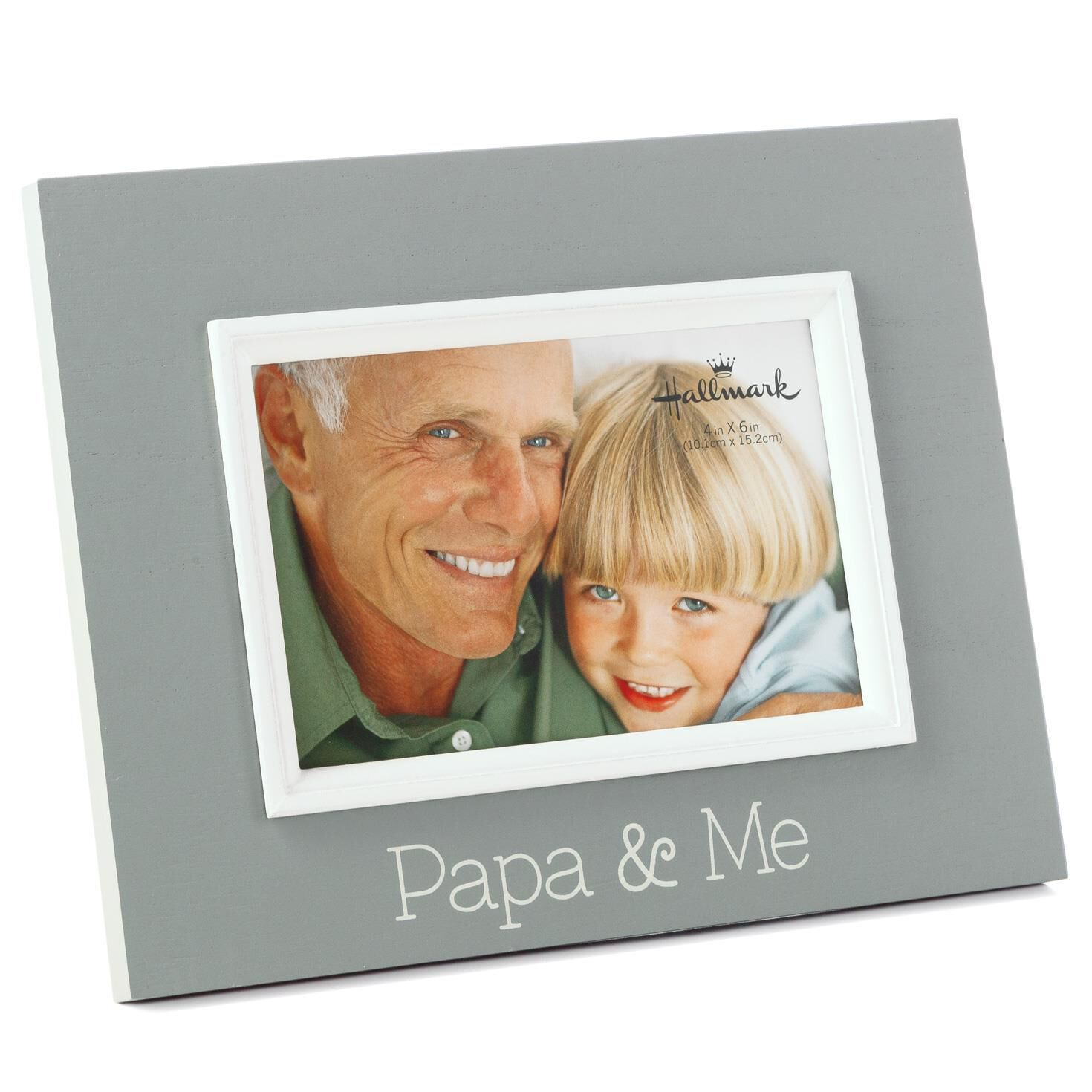 papa me wood malden picture frame 4x6 picture frames hallmark