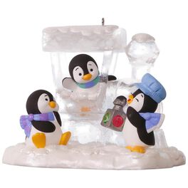 Penguin Express Ornament, , large