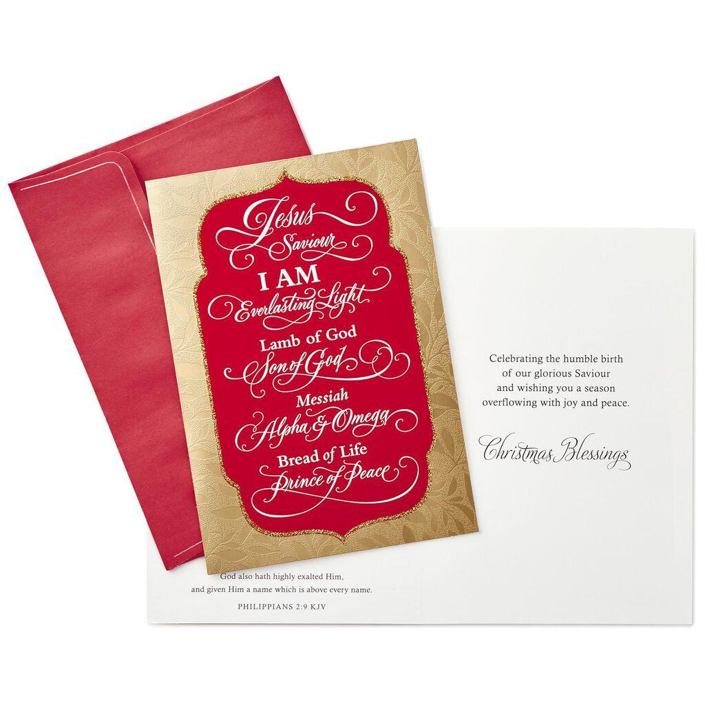 Jesus, Our Saviour Religious Christmas Cards, Box of 16 - Boxed ...