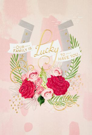 Lucky Horseshoe Mother's Day Card for Anyone