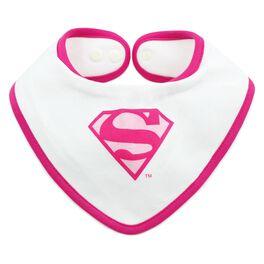 SUPERMAN™ Bandana Bib by Bumkins, Pink, , large