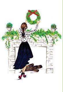 Perfect Holiday Christmas Card,