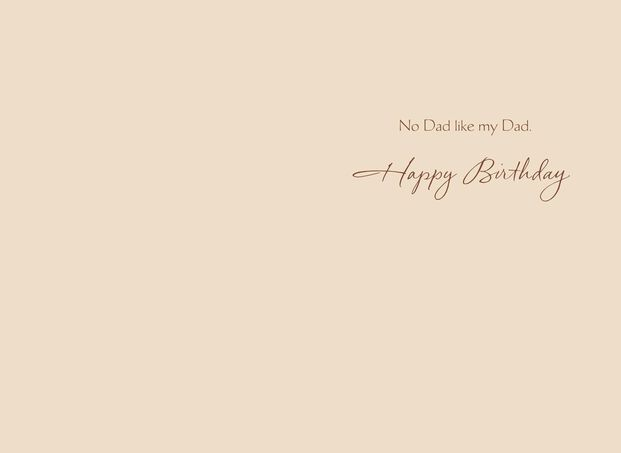 No Love Like Dads Birthday Card For Dad
