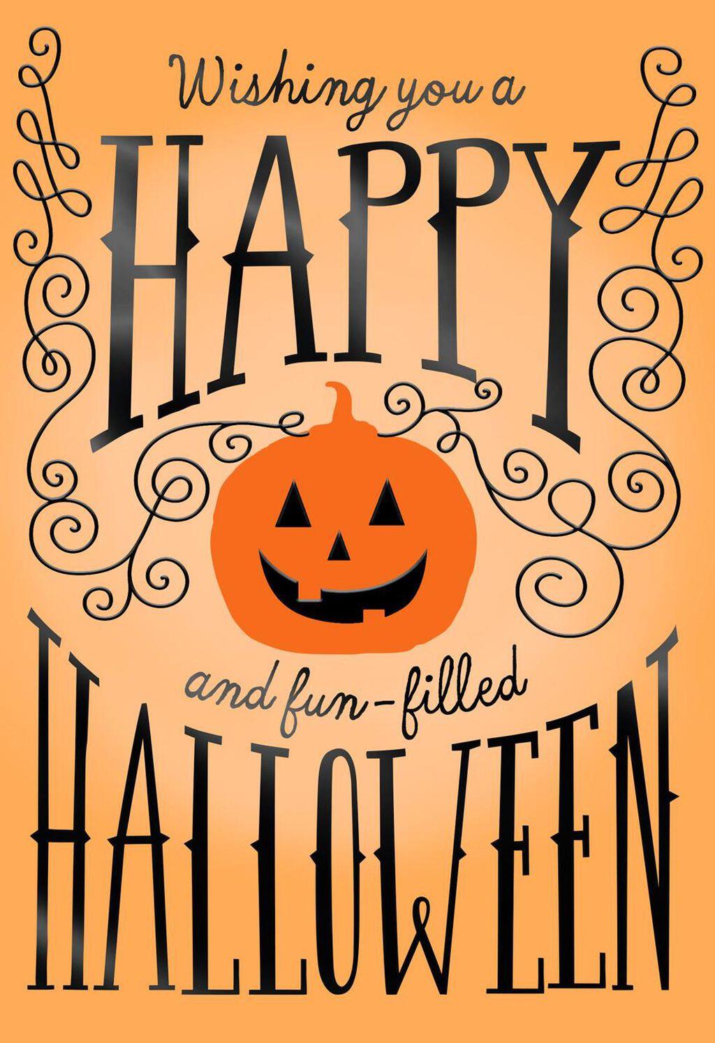 Pumpkin Happy Halloween Card Greeting Cards Hallmark